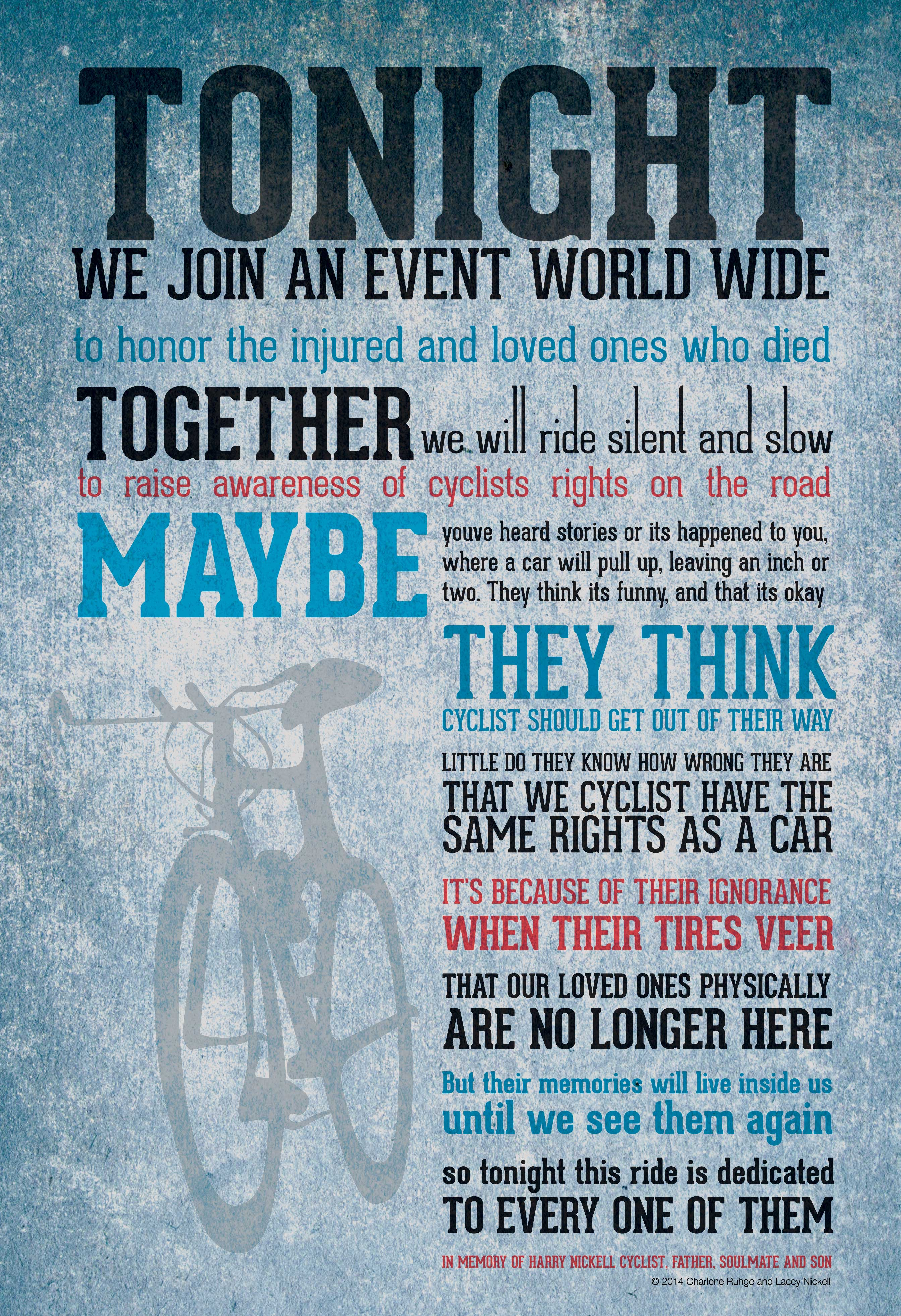 ride of silence   organizer resources